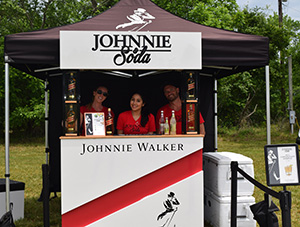Johnnie Walker booth