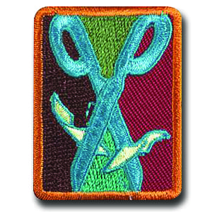 collage badge