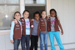 Girl Scouts Crafty Campout Brownie Photo