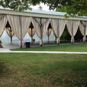 Weddings Pavilion Curtains Image